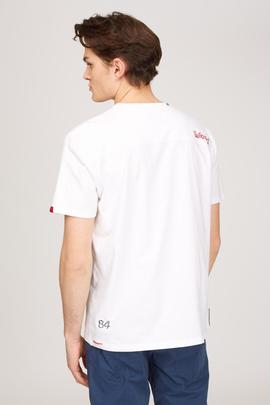 T-SHIRT M/C JUBY/R POCKET JERSEY REGULAR FIT WHITE