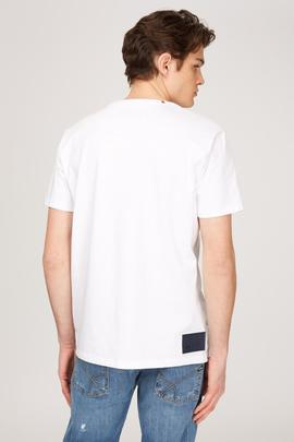 T-SHIRT M/C JUBY/R GAS JERSEY REGULAR FIT WHITE