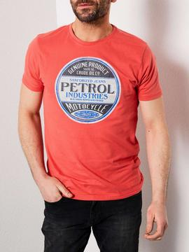 CAMISETA M-SS19-TSR600-2070 RED CORAL