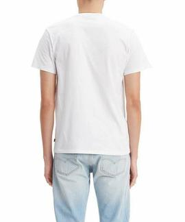 GRAPHIC SETIN NECK 2 501 T2 REGULAR FIT WHITE