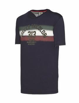 T-SHIRT M.C 191TS1620J372 BLUE NAVY