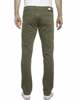 SCANTON SLIM FIT HERITAGE OLVNC OLIVE NIGHT COM