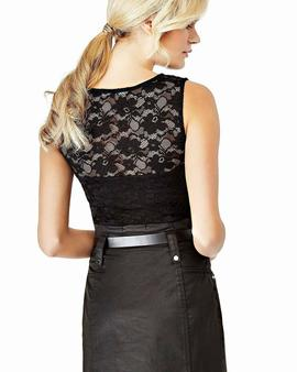 BETTY LACE TOP JET BLACK