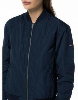 THDW BASIC BOMBER JACKET NAVY