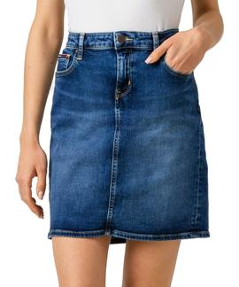 REGULAR DENIM SKIRT AMDRM AMADOR MID BL COM