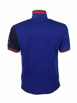 POLO M.C 171PO1156P138 NAVY / BLUE / WHITE