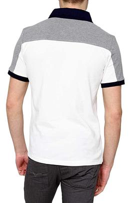 POLO M.C 161PO1049P112 GREY / WHITE