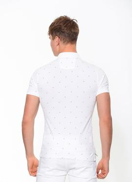 PERTOL 3 SLIM FIT POLO SS BRIGHT WHITE