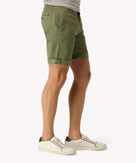 TJM BASIC STRT SHORT FREDDY 11 VERDE KAKI