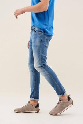 CLASH SKINNY FIT PREMIUM FLEX EN DENIM AZUL
