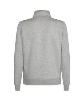 HILFIGER LOGO ZIP THROUGH CLOUD HEATHER