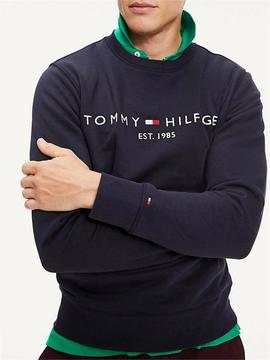 TOMMY LOGO SWEATSHIRT SKY CAPTAIN