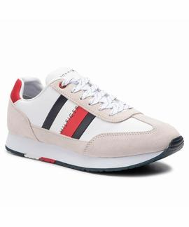 ZAPATILLAS TOMMY CORPORATE LEATHER WHITE