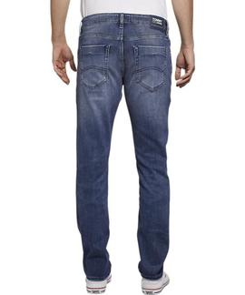 SCANTON SLIM FIT HERITAGE BRS BRUSH MID BL COM
