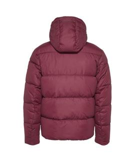 TJM ESSENTIAL HOOD BURGUNDY