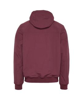 TJM PADDED NYLON JACKET BURGUNDY