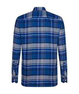 CLASSIC TARTAN SHIRT REGULAR FIT SODALITE BLUE