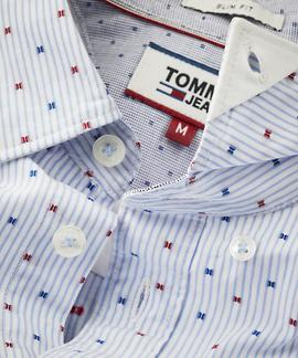 TJM DOBBY SHIRT SLIM FIT CLASSIC / MULTI