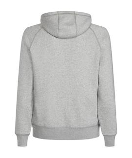 HILFIGER RWB HOODY CLOUD HEATHER