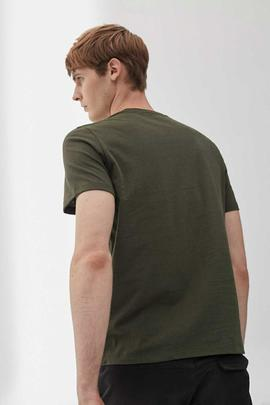 NATAL LABEL T-SHIRT MAN GREEN