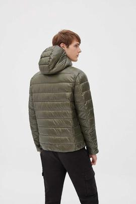 SHINE ASP DOWN JACKET MAN DUSTY OLIVE