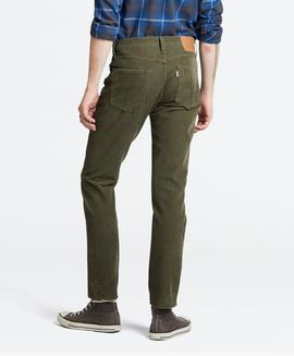 511 SLIM FIT OLIVE NIGHT WARP STR CORD