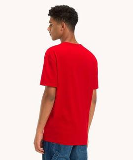 TJM ESSENTIAL SPLIT BOX TEE REGULAR FIT SAMBA
