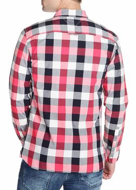 POPLIN CHECK SHIRT REGULAR FIT