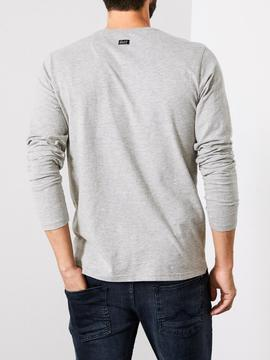 CAMISETA M.L M-3090-TLR603-9038 LIGHT GREY MELEE