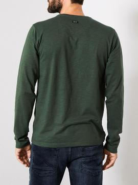 CAMISETA M.L M-3090-TLR603-6120 WORKER GREEN