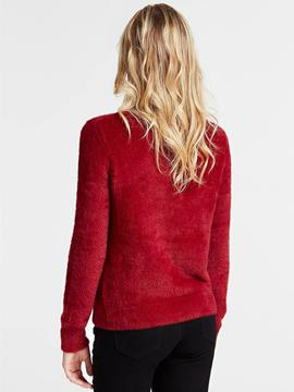 LS RN IRENE SWEATER RUSSIAN RED