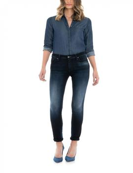 WONDER SKINNY FIT HIGH WAIST EN DENIM AZUL