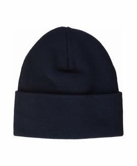 BIG BOX TAB BEANIE NAVY BLUE