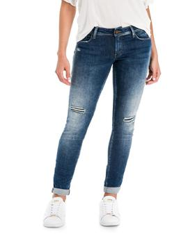WONDER SKINNY FIT PREMIUM WASH CON ROTOS
