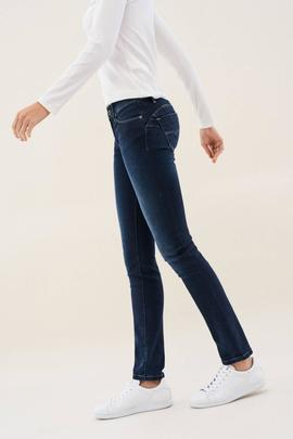 WONDER SLIM FIT EN DENIM AZUL