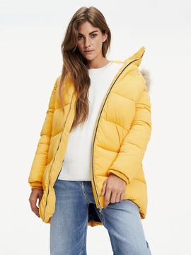 TJM MODERN PUFFA COAT GOLDEN GLOW