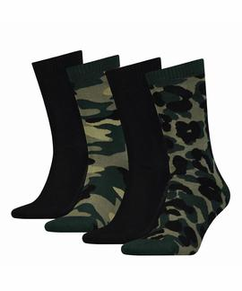 LEVIS GIFTBOX REGULAR CUT 4 PACK CAMO - BLACK