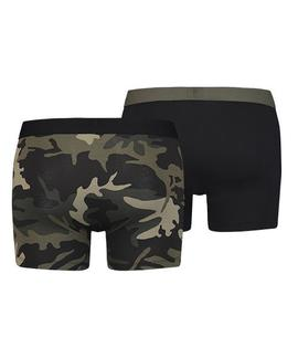 LEVIS CAMO BOXER BRIEF 2 PACK BLACK - CAMO