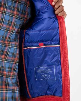 DOWN JACKET BASIC RED