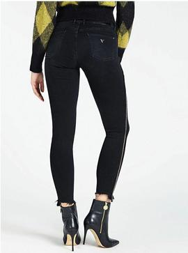 JEGGING MID ULTRA SKINNY FIT MARCHING BLACK