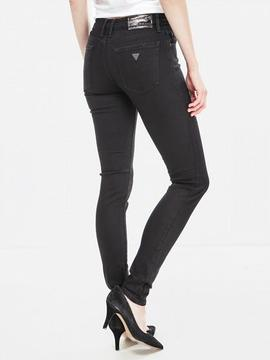 ANNETTE MID RISE SKINNY FIT SNOW DROP