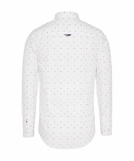 TJW COLORED DOBBY POPLIN SHIRT WHITE / MULTI