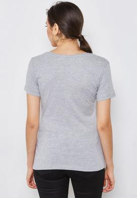 SS VN GIPSY TEE LIGHT MELANGE GREY