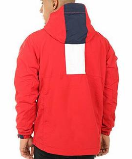 THDM LOGO PULLOVER JACKET 41 RED