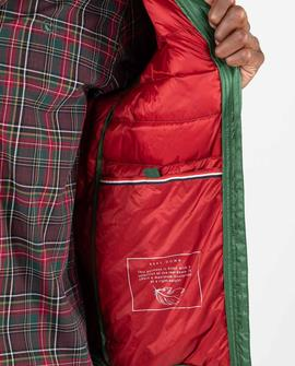 DOWN JACKET BASIC GREEN