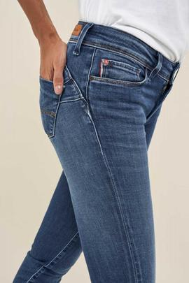 WONDER SKINNY FIT MEDIUM WAIST EN DENIM AZUL