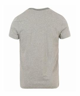 KOBY C-NK TEE S/S RF LIGHT GREY HTR