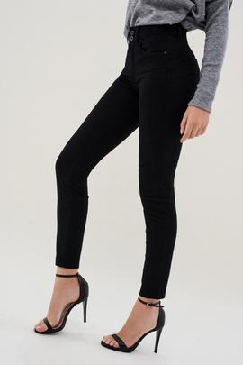 SECRET SKINNY FIT HIGH RISE TRUE BLACK