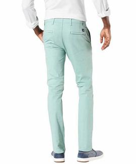 ALPHA KHAKI 360º SKINNY TAPERED STONE BLUE