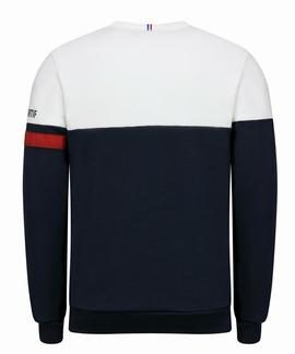 TRI CREW SWEAT Nº1 M SKY CAPTAIN / OPTICAL WHITE